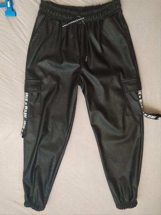 Spodnie eko skóra xxl Bielsk Podlaski - image 1