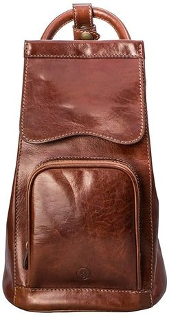 Женский кожаный рюкзак премиум-класса Maxwell Scott - Carli Tan
