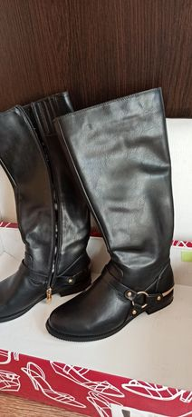 Демисезонные ботинки (высокие)