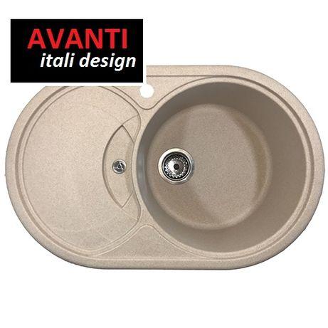 Акция!Мойка для кухни гранитная Avanti 780 все цвета!