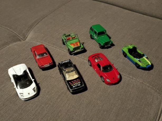Resoraki Siku, Matchbox, Majorette MR2 Ferrari Lamborghini Jeep