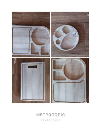 Доска для подачи  стейка, эко-посуда, еко-посуд, кухонні доски