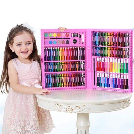 Набор для детского творчества в чемодане из 168 шт набор для рисования