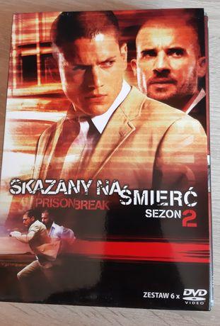 Skazany na  śmierć (Prison Break) sezon 2 na DVD