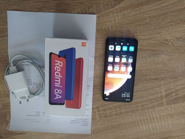 Xiaomi Redmi 8A 2/32GB czarny jak nowy, gwarancja