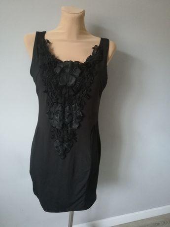 r.XL ,nowa sukienka, koronka, wyszczuplająca, efektowna