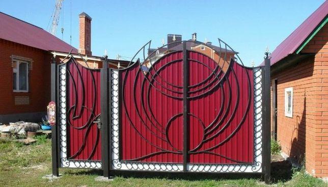Сварочные работы, решетки,ворота,навесы,котлы