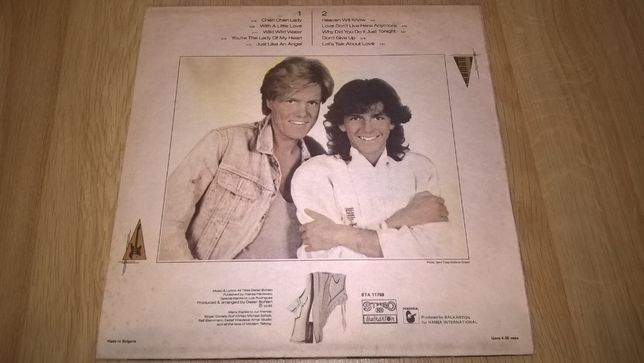 Modern Talking (Let's Talk About Love. The 2nd Album) 1985. Bulgaria