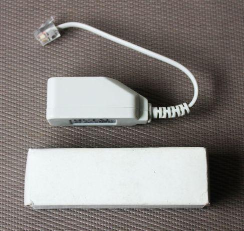 Micro filtro conversor de linha telefónica para ADSL da Octal (NOVO)