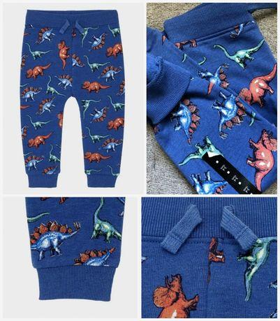 Классные штанишки с начесиком от George, размер на 1,5-2,2-3,3-4 года