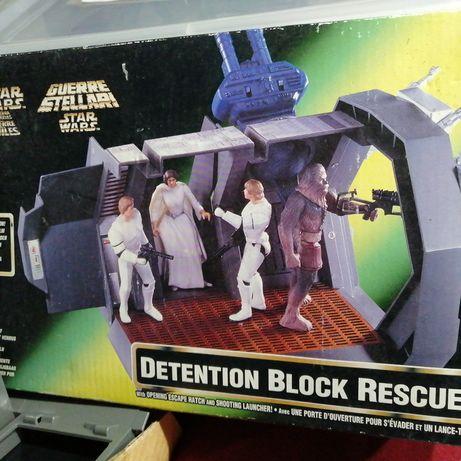 Star Wars Detention Block diorama