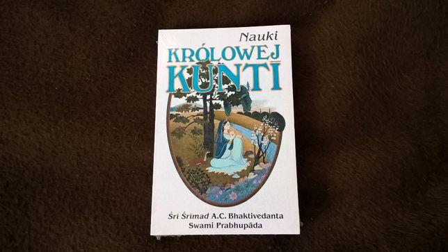 Nauki Królowej Kunti-książka ,nowa