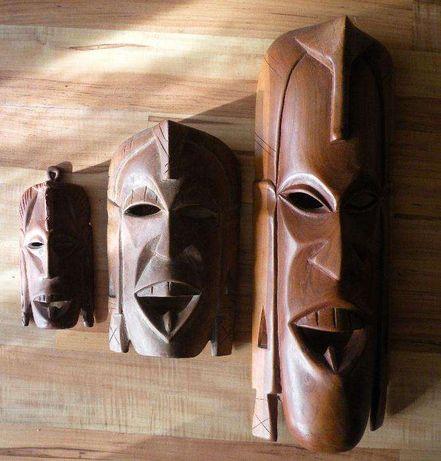 3 Maski Afryka