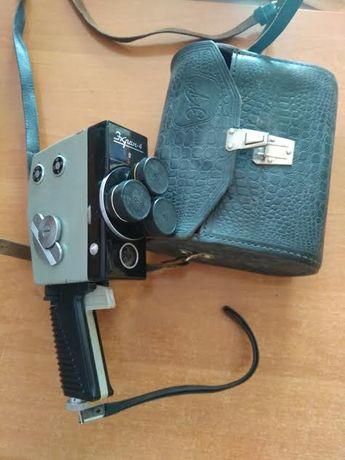 """Продається раритет - любительська кінокамера 2X8 мм """"Экран-4"""""""