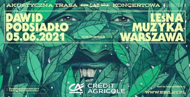 3 bilety - koncert Dawida Podsiadło, 5.06.2021, COS Torwar Warszawa