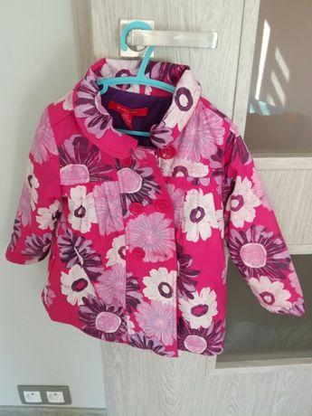 Kurtka bluza plaszczyk przeciwdeszczowe dla dziewczynki rozm 104