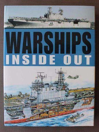 Livro Warships Inside Out de Robert Jackson