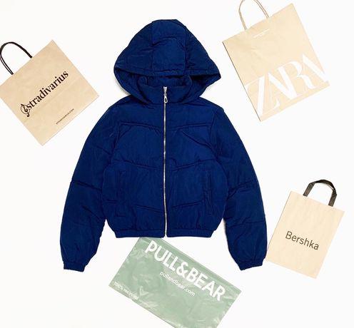 Укороченная Куртка пуффер Pull&Bear Bershka Zara Mango Оригинал Xs/S