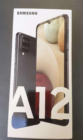 Samsung Galaxy A12 64Gb czarny Nowy