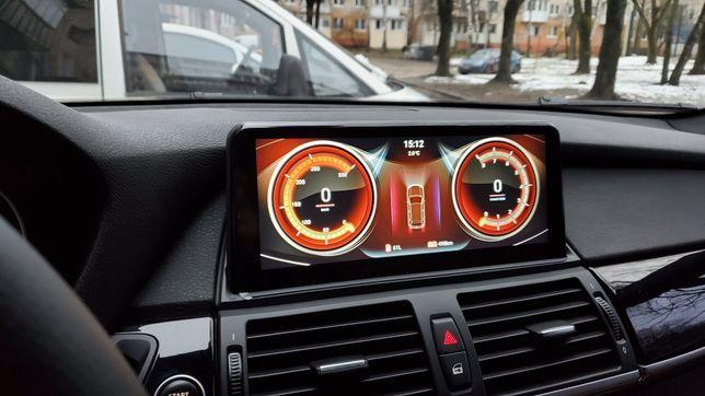 Магнитола, дисплей BMW X5 E70, Х6, F15, F10 Android, CarPlay