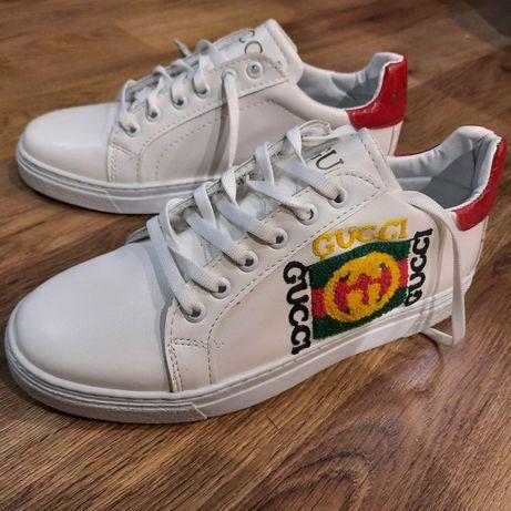 Кроссовки кросівки Gucci р.39 стелька 25 см новые