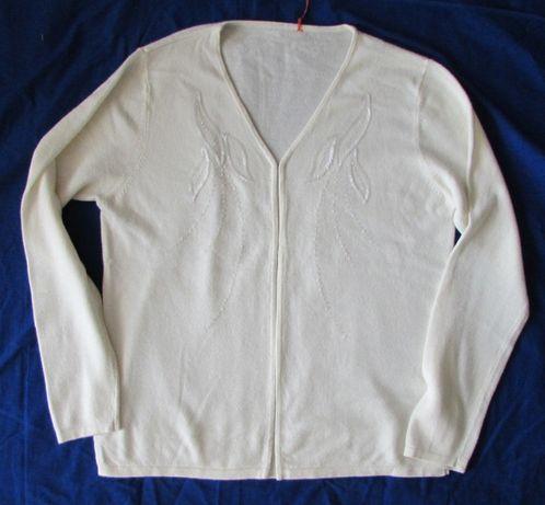 Sweter ecru Arcadia L nowy