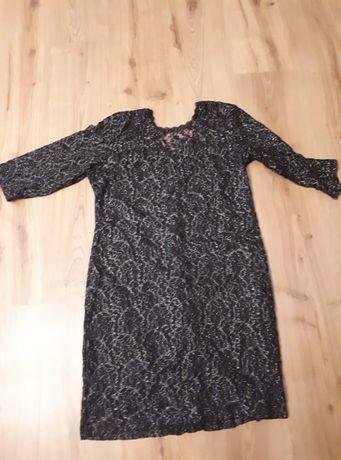 sukienka z mieniaca nitka