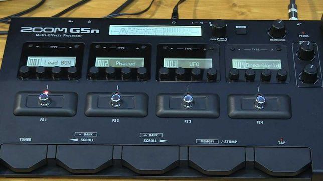 Zoom G5n гитарный процессор
