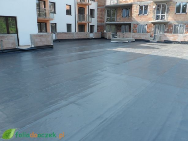 Folia hydroizolacyjna PVC izolacja fundamentów tarasów piwnic.