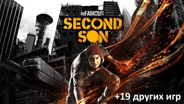 inFAMOUS Second Son и другие игры на ваш аккаунт playstation 4 ps4 ps+