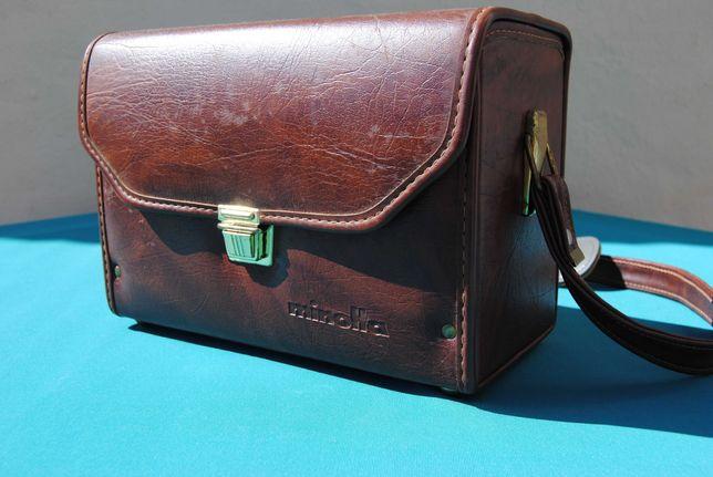Minolta Mala rígida antiga para material fotográfico Vintage