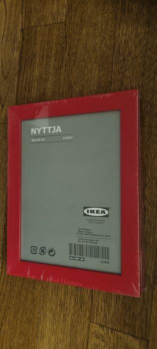 Ramka Nyttja, IKEA, 18x24cm, 4 sztuki, tylko 15pln Mory - image 1
