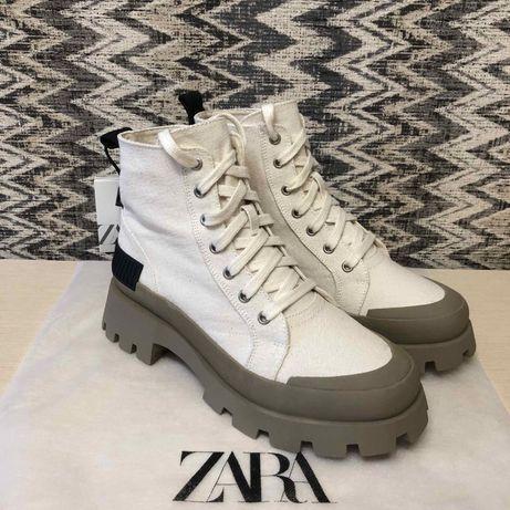 Ботинки Zara 39 и 40 размер, оригинал, новые
