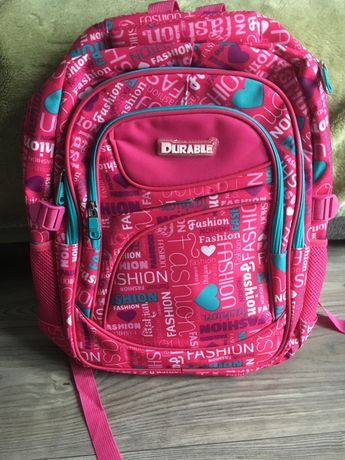 Plecak rozowy do szkoly