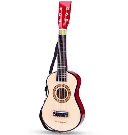 Brązowa Gitara dziecięca New Classic Toys