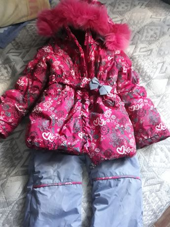 Зимний комбинезон девочка