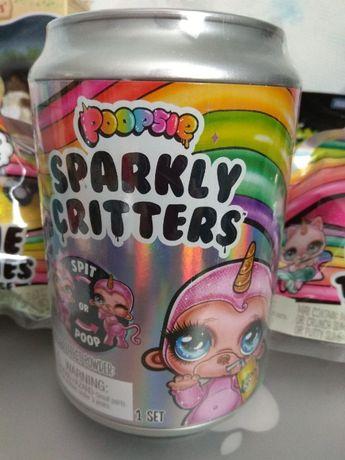 Очаровательный Питомец Пупси со слаймо Poopsie surprise SparklyCritter