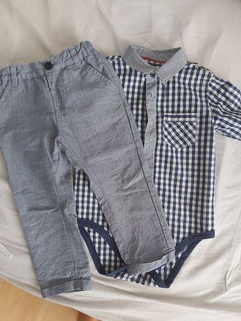 Komplet chłopięcy koszulobody spodnie