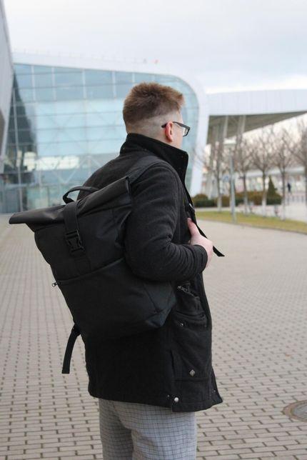 Рюкзак мужской-женский ROLL TOP рюкзак для ноутбука / рюкзак городской