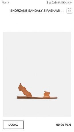 Sandałki Zara 37