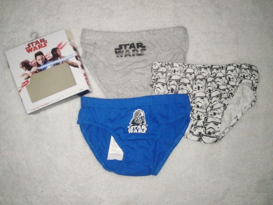 Nowe majtki, slipki Star Wars 104-110 Miąse - image 1