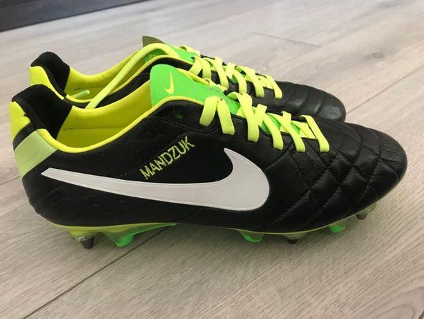 Бутсы Nike TIEMPO LEGEND VI SG-PRO Мандзюк. US 7.5, новые + шипы