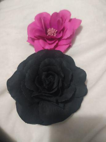 Broszka, kwiat, spinka