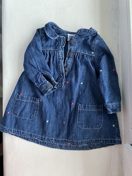 Платье детское для девочки грудничка  1 2 3 4 5 6 месяцев
