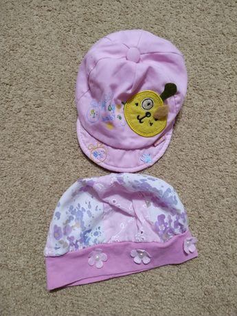 Летние шапочки на девочку