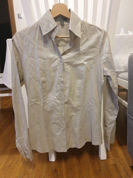 Wieczorowa błyszcząca koszula damska Bandolera 36