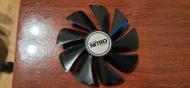 куллер для видеокарты Sapphire NITRO/+ RX470 480 570 580 4-8Gb