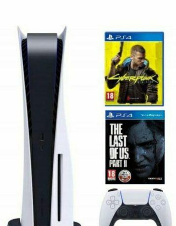 Sony playstation 5, nowa cyberpunk The Last of us 2 ps5 REZERWACJA