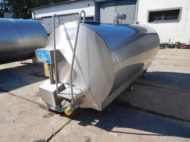 Schładzalnik, chłodnia zbiornik do mleka 4200 L MUELLER, dwa modele,