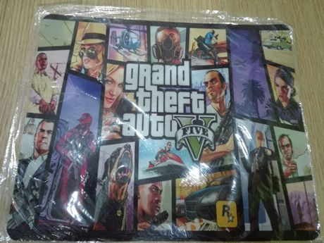 Tapete de rato GTA ( Gran Theft Auto 5) - novo